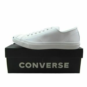 Converse Jack Purcell LEA OX White Leather Casual